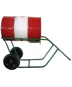 Carrinho transporte e entornador de tambor