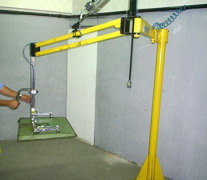 Manipulador para radiadores