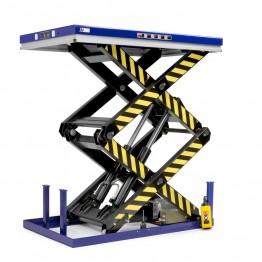 Mesas elevatórias fabricantes